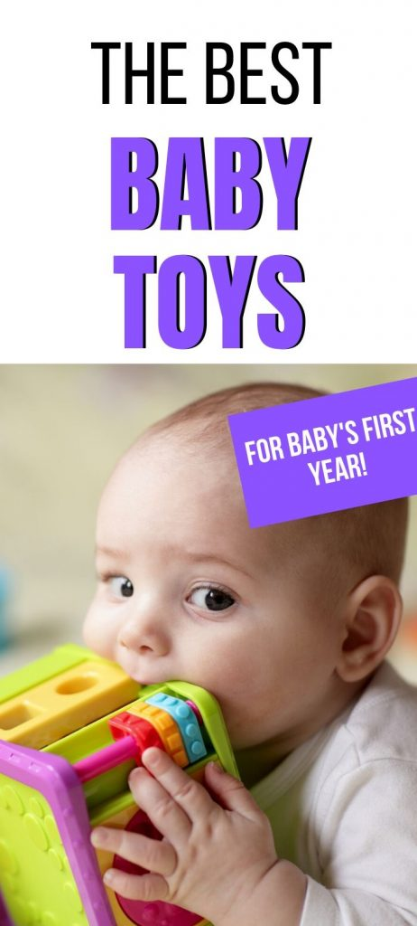 Best baby toys for baby's first year