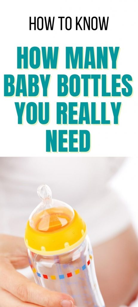 baby bottles: how many do you need when preparing for baby?