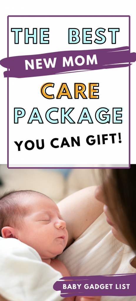 best new mom care package essentials