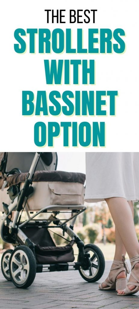 strollers with bassinet option