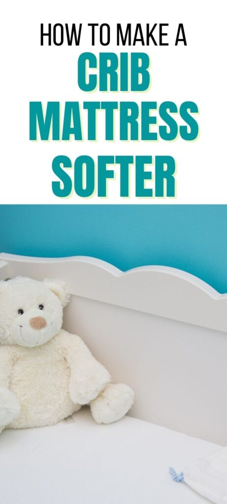 how to make a crib mattress softer