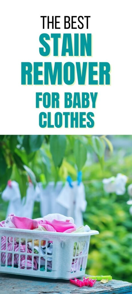 stain remover for baby clothes