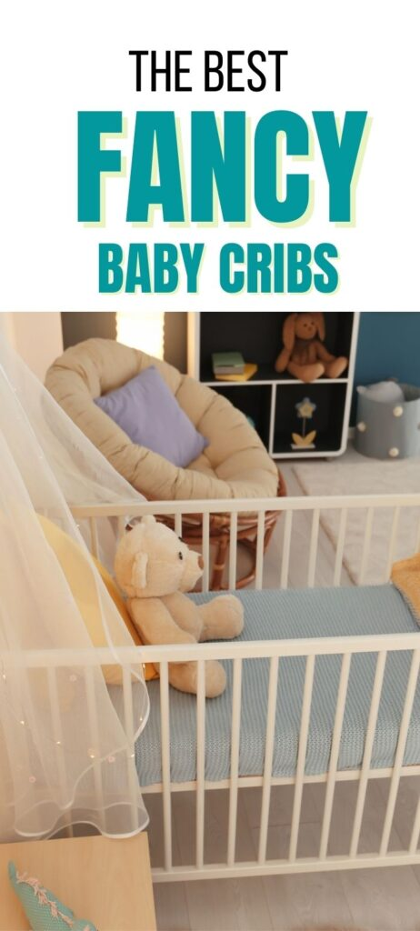 fancy baby cribs