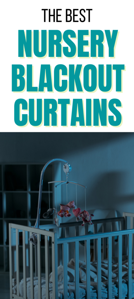 best nursery blackout curtains
